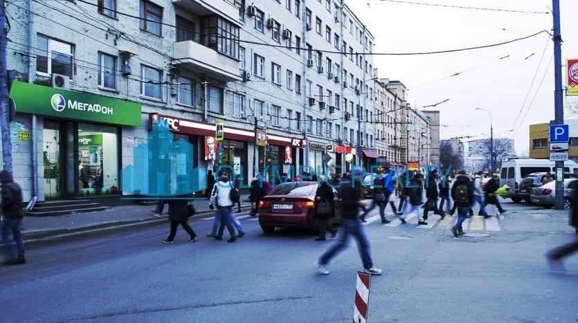 Грузинский вал, д.28/45 продажа помещения арендный бизнес арендатор KFC