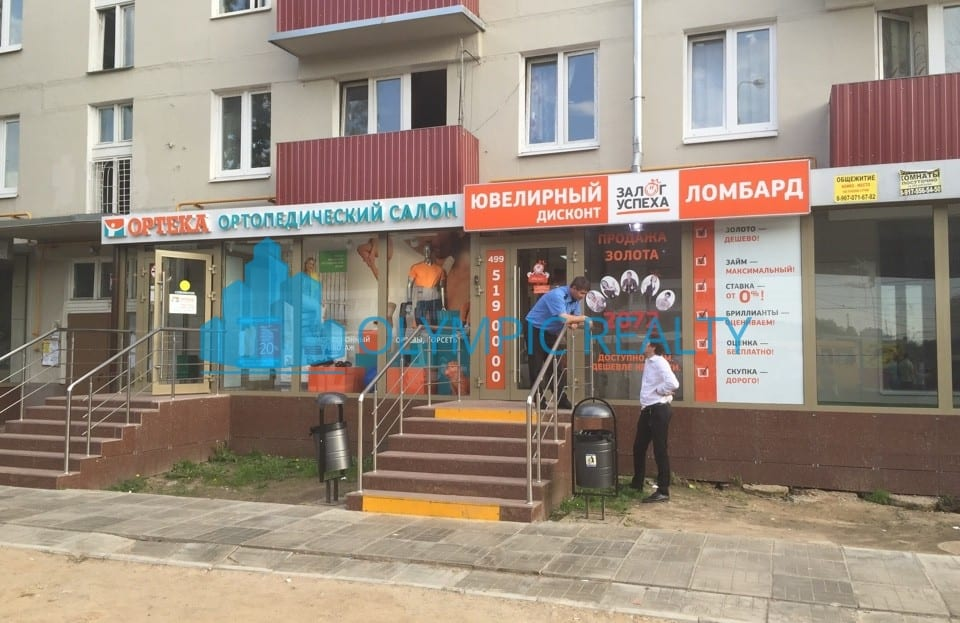 Щелковское ш., д.56/72 продажа помещения арендный бизнес ортопедический салон ортека