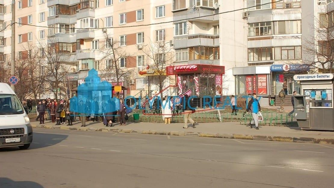 Новочеркасский б-р, д.55 продажа помещения арендный бизнес в Москве май маркет