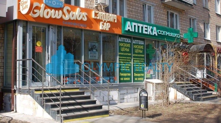 проспект Андропова, д.30, продажа арендного бизнеса, торговые помещения.