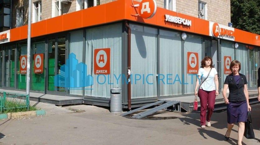 2-я Владимирская, д.34 продажа помещения арендный бизнес в Москве арендатор дикси возле метро