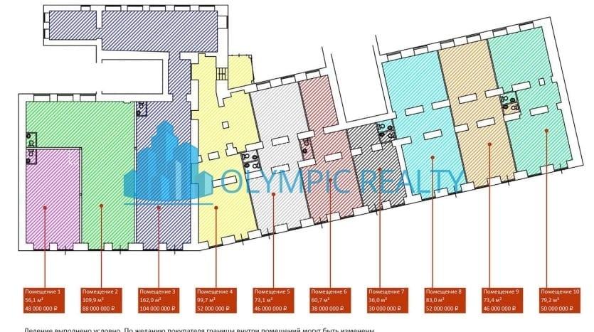 Продажа торгового помещения - Пречистенская наб., д. 15 стр.1