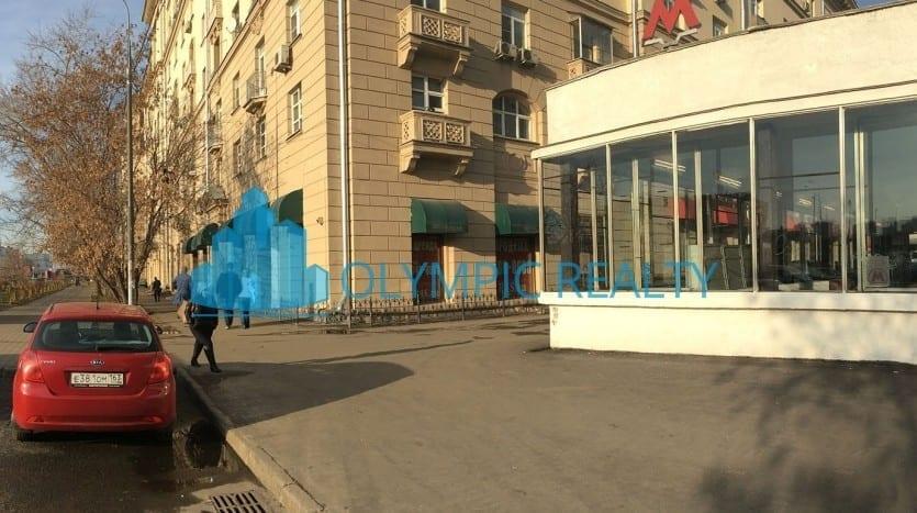Ленинский проспект, д.37а . продажа торговых помещений