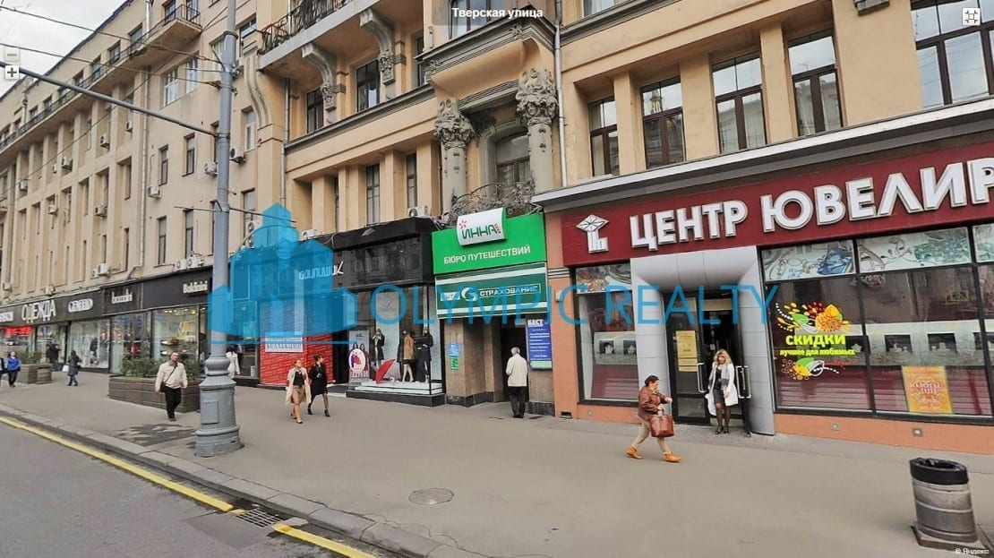 Тверская 12с1 - аренда торгового помещения