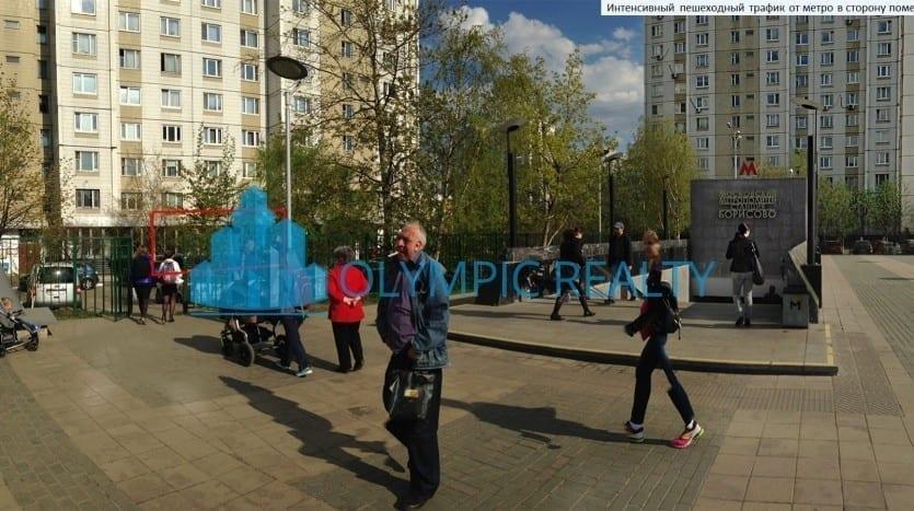 ул. Борисовские пруды д.14 к.3, продажа торгового помещения, аренда