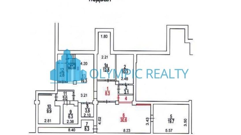 ул. Солнечногорская, дом 22, корпус 2. продажа офисного помещения