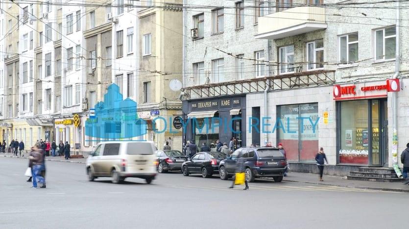 Грузинский Вал, д.28/45 продажа помещения возле метро Белорусская стрит ритейл