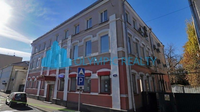 ул. Садовническая, 72, продажа офисного помещения