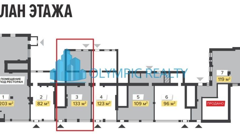 ул.Авиамоторная, д.47, продажа торгового помещения, ритейл