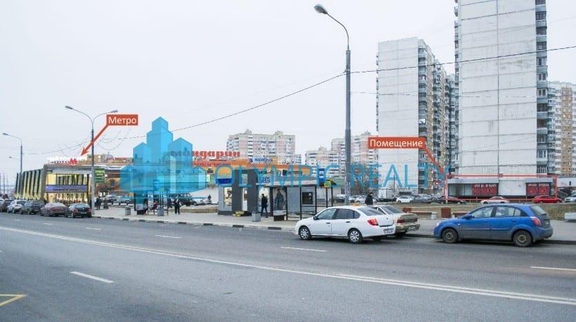 Пятницкое шоссе, д. 37, корп.1, аренда торгового помещения