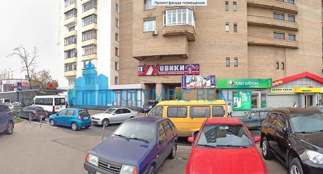 Волгоградский проспект, д.80/2, аренда торговых помещений