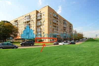 Ленинский пр-т д.32, аренда торгового помещения
