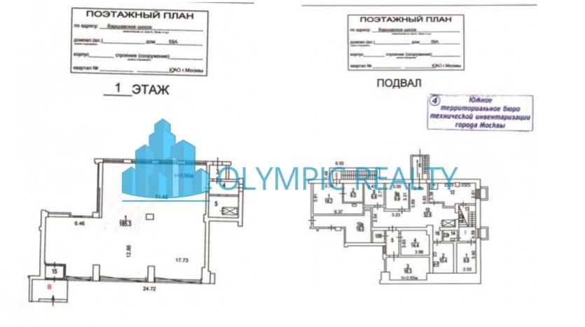 Варшавское ш., д.59А, продажа арендного бизнеса