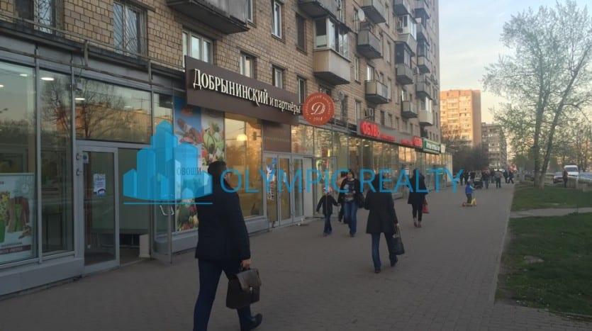 Б.Черкизовская, д.5, корп.1 продажа помещения арендный бизнес арендатор Добрынинский и партнеры