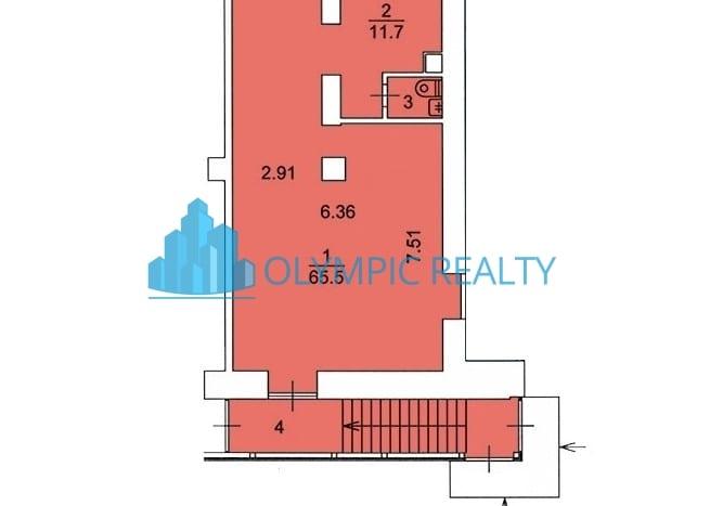 Кутузовский проспект, д.8, продажа торгового помещения