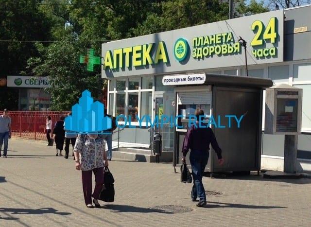 2-я Владимирская, д.38/18 арендатор аптека Планета Здоровья, окупаемость 7.5 лет