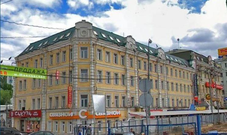 Площадь Тверской Заставы 2с2