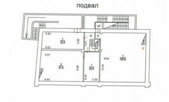 1-й Хвостов 11с1 план подвал