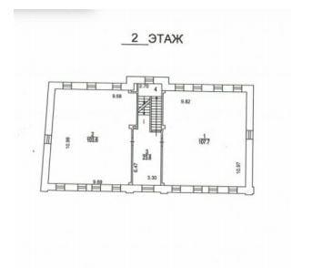 1-й Хвостов 11с1 план 2й этаж