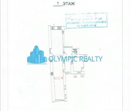 Лесная улица 1-2 аренда помещения - планировка
